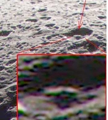 Misteriose strutture su Giapeto, una luna di Saturno