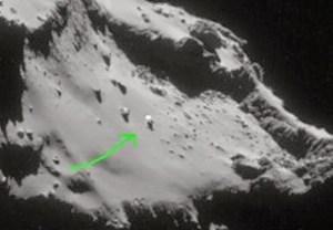 Rosetta avvista Ufo sulla cometa 67P Churyumov Gerasimenko