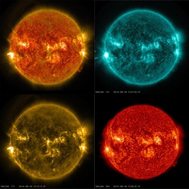 Il bellissimo video della NASA di un brillamento solare