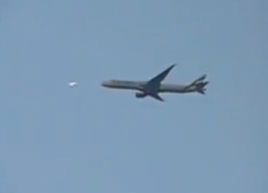 India pilota avvista Ufo in volo