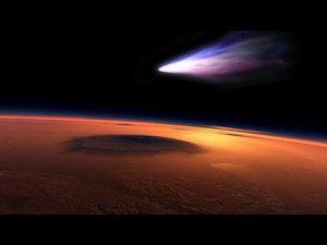 La cometa Siding Spring sfiora Marte