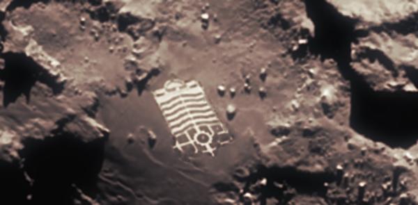 Rosetta fotografa una base aliena sulla cometa