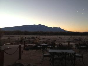 Formazione triangolare avvistata nel New Mexico