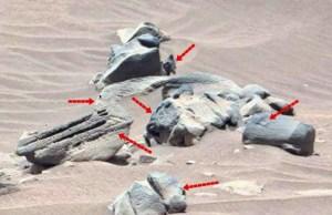Nuove anomalie riscontrate su Marte