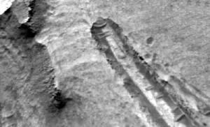 Scoperto Ufo crash su Marte