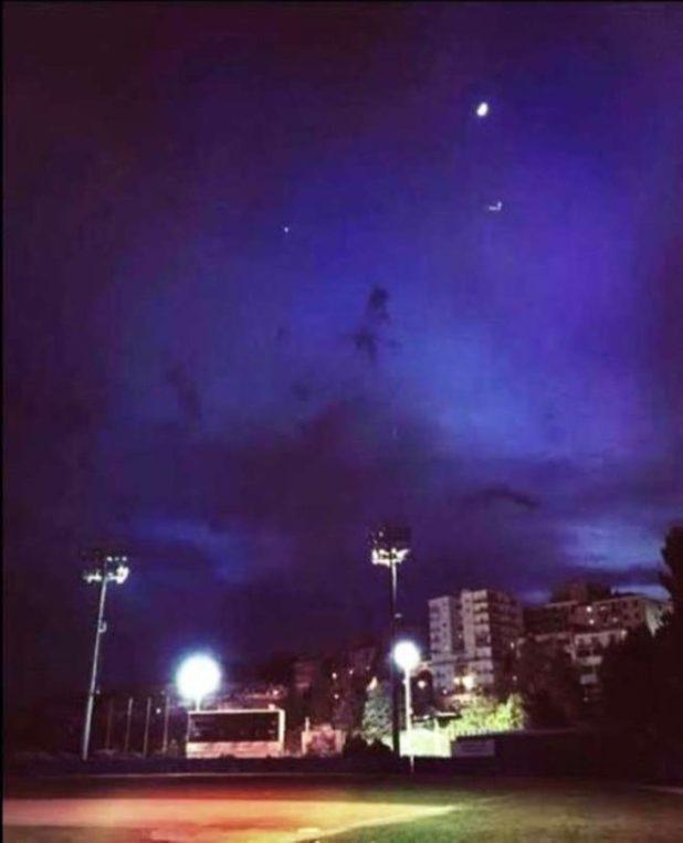 Avvistamento Ufo a Macerata