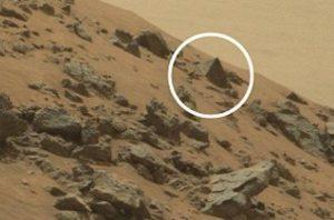Immortalata da Curiosity una piramide su Marte