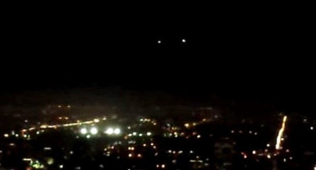 Avvistamento Ufo a Los Angeles