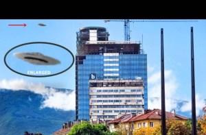 Fotografato disco volante a Sofia