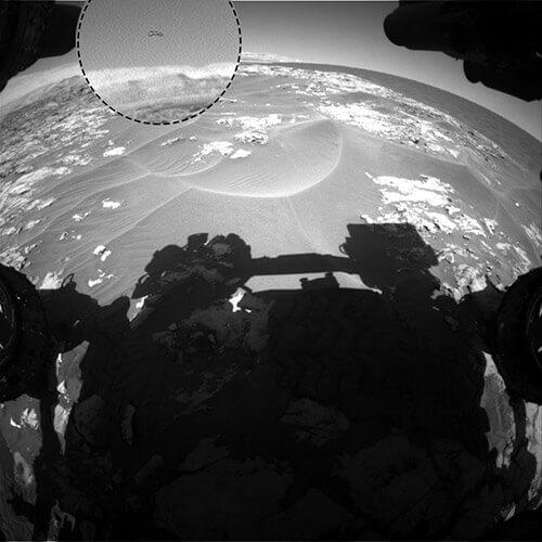 Che cosa vola nel cielo di Marte