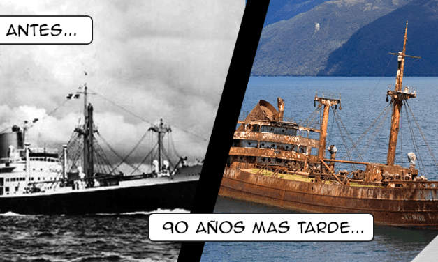 Reaparece de la nada Barco perdido hace 90 años en el triángulo de las Bermudas