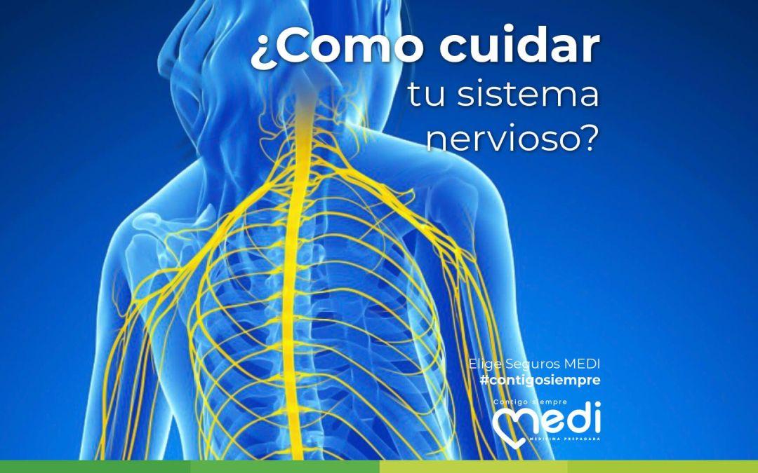 ¿Cómo cuidar tu Sistema Nervioso? El sistema nervioso regula y ayuda al funcionamiento correcto de nuestro cuerpo pero muchas veces no sabemos como cuidarlo. Por eso, te presentamos algunos consejos.