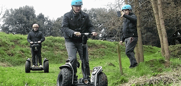 New proposals for Segway Garrotxa NATURATOURS