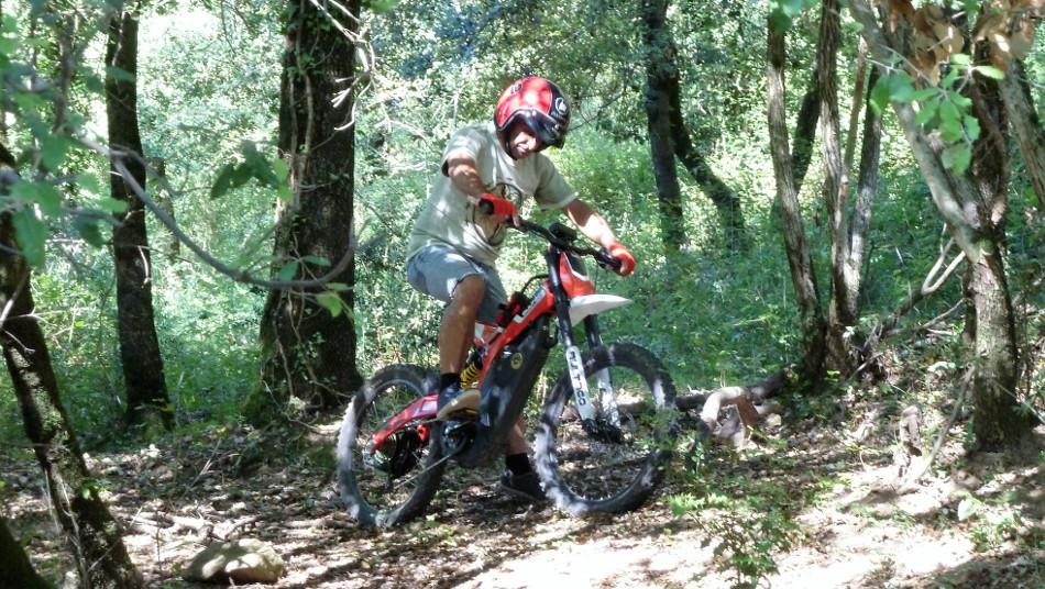 Segway Garrotxa Bultaco Brinco a la Garrotxa NATURATOURS