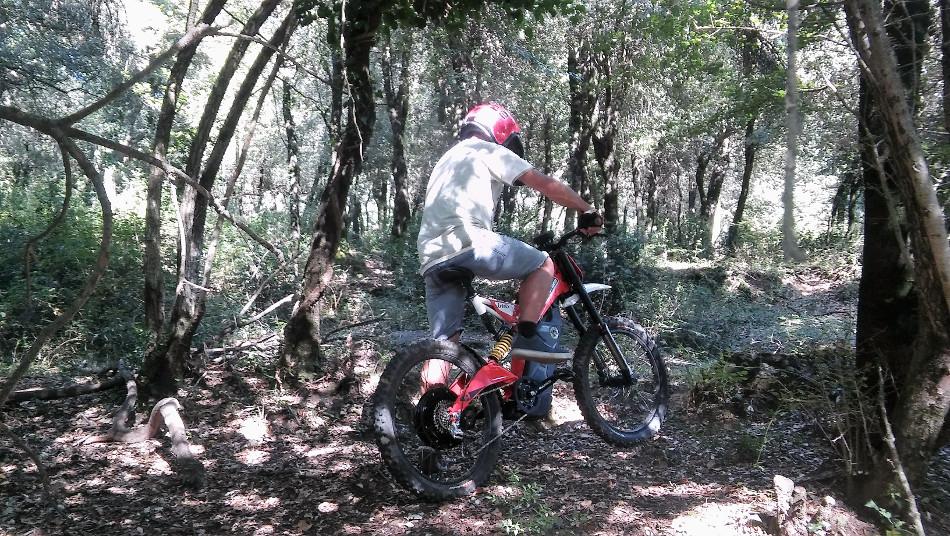 Segway Garrotxa Garrotxa Bultaco Brinco il NATURATOURS