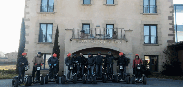 Segway Garrotxa Gruppen' Royal Green Incentives