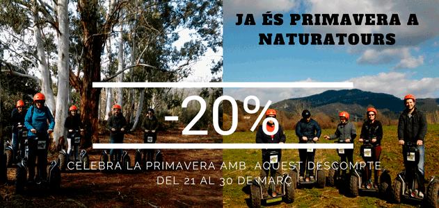 Soyez printemps Naturatours Segway Garrotxa
