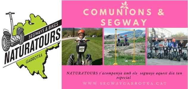 Segway Garrotxa Naturatours a la teva comunió
