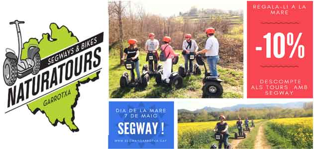 Segway Garrotxa Naturatours the Mother's Day