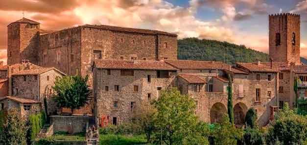 Turer Segway i Santa Pau Garrotxa Medieval
