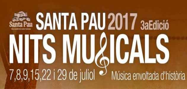 Musical nights in Santa Pau Garrotxa recommended by Segway