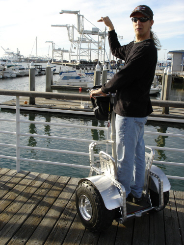 Jack London Square Oakland CA Segway Tour