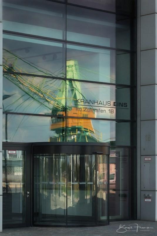 Kranhaus 1 im Zollhafen in Köln