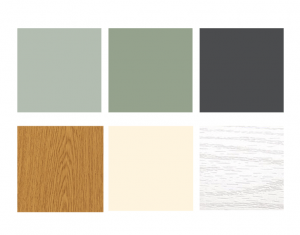 popular colours of windows and doors