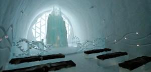 Kapelle im Eishotel