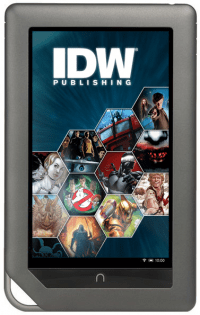 IDW and Barnes & Noble Partner to Bring Graphic Novels to NOOK