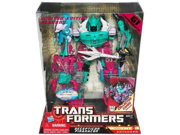 Big Bad Toy Store Exclusive Seacons Arrive - Transformers
