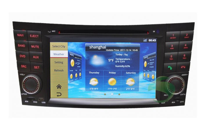 Android Mercedes-Benz W463 dvd player