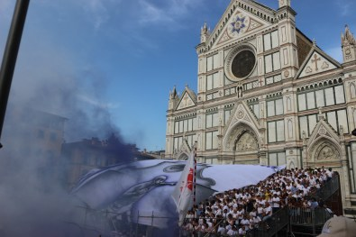Calcio storico Verdi Bianchi - Foto di Matteo Venturi 045