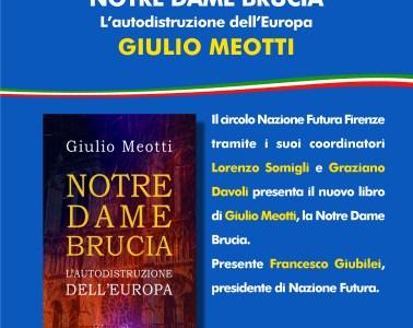 Giulio Meotti, Notre-Dame