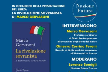 Presentazione Marco Gervasoni a Firenze