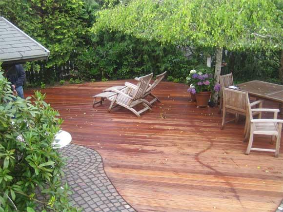 Holz im Garten Axel Seifert Gartengestaltung mit