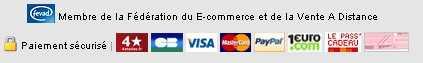 Modes de paiement disponibles sur le Site 3suisses.fr