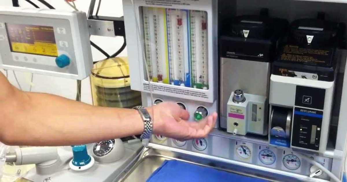 7 Tips para mantener una máquina de anestesia en buen estado