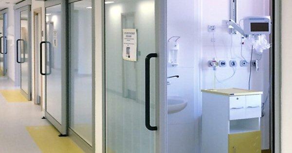 Áreas de aplicación para los sistemas de puertas hospitalarias