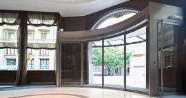 Características de la Puerta Hermética de Vidrio Corrediza Automática de una hoja