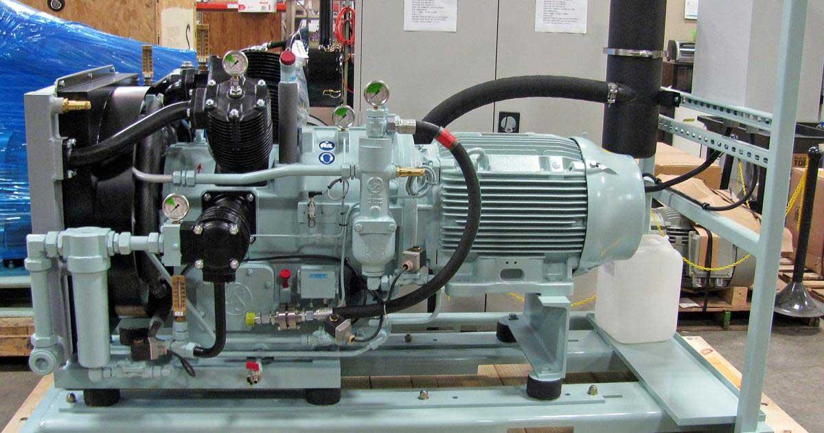 Cómo dar mantenimiento a compresores de aire de grado médico
