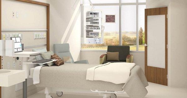 ¿Los pacientes se sienten bien en habitaciones remodeladas