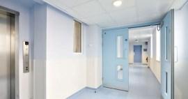 Materiales para sistemas de paneles de pared hospitalaria