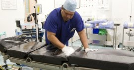 Procedimientos modernos para la limpieza de un quirófano