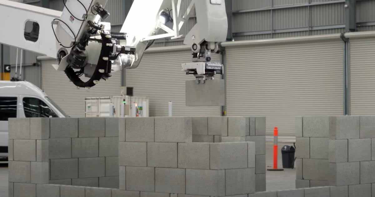 Robots colaboran en la construcción prefabricada y modular