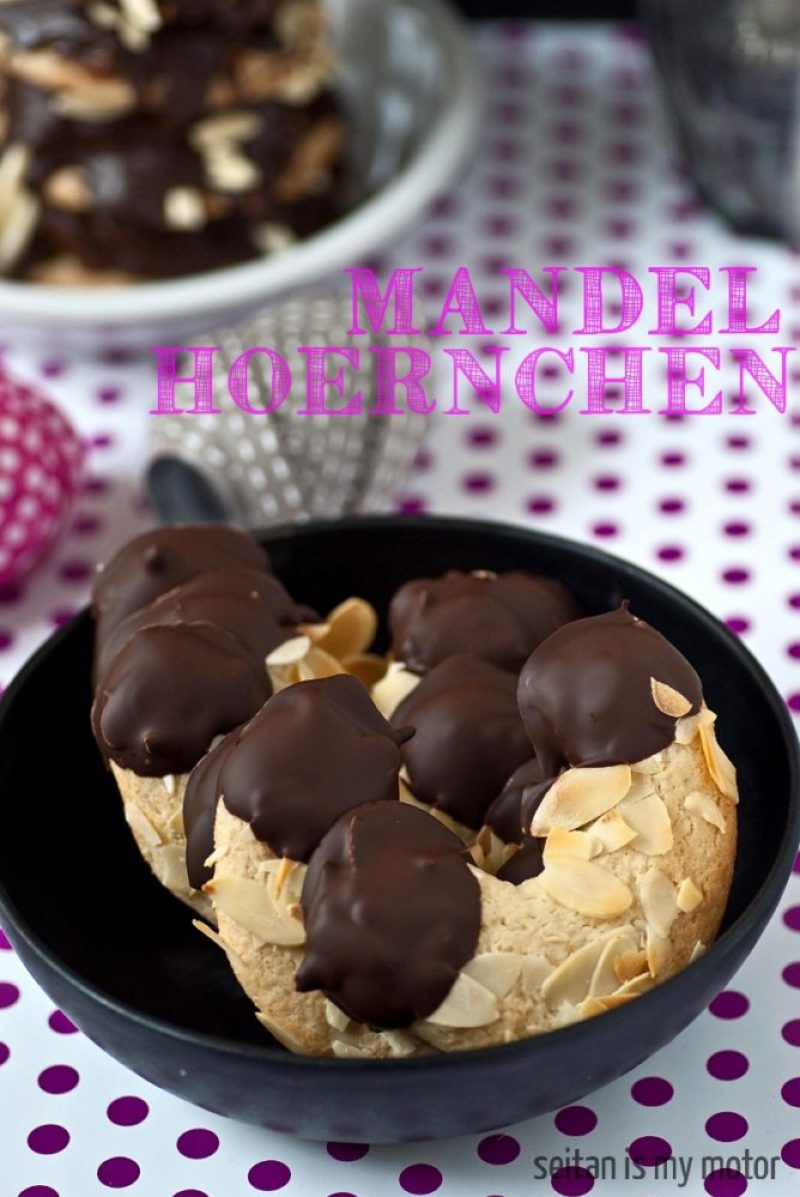 Mandelhoernchen - a German childhood favourite