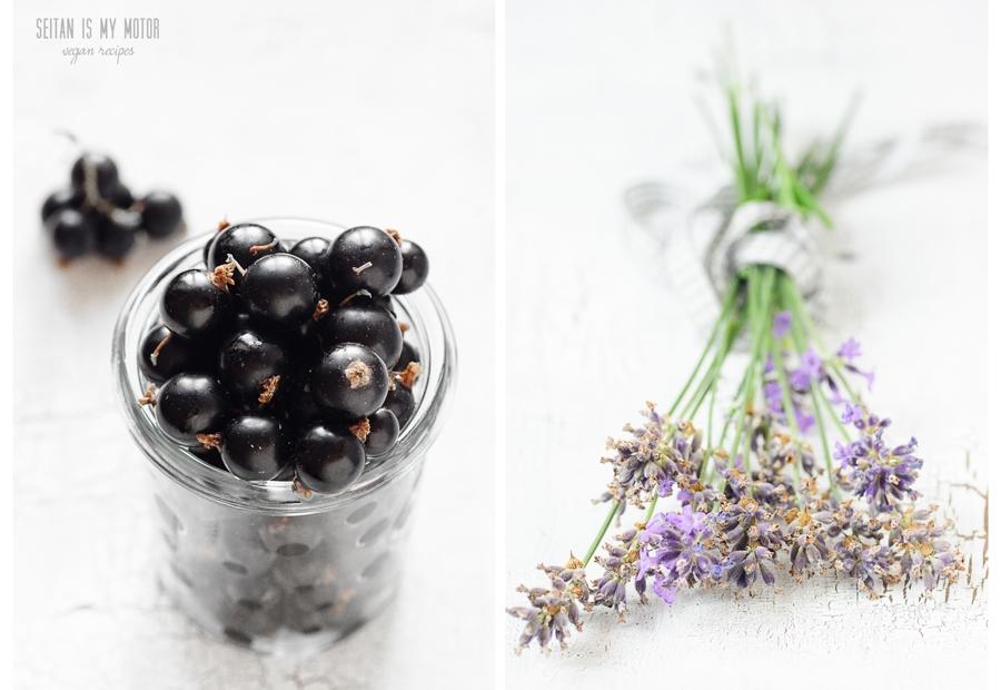 black currant lavender pie