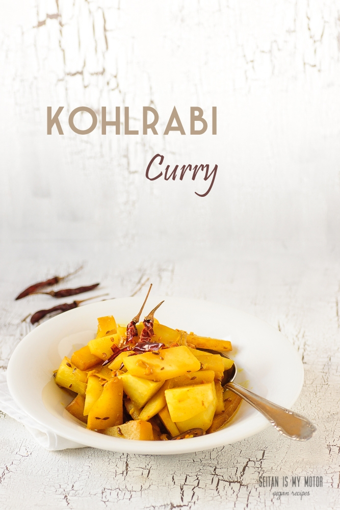 kohlrabi curry #vegan #glutenfree #vegetables #cooking #kohlrabi