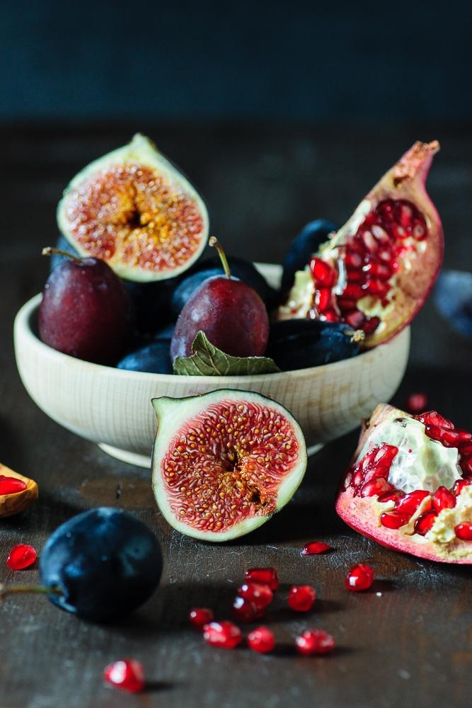 Fig, Plum, and Pomegranate Jam