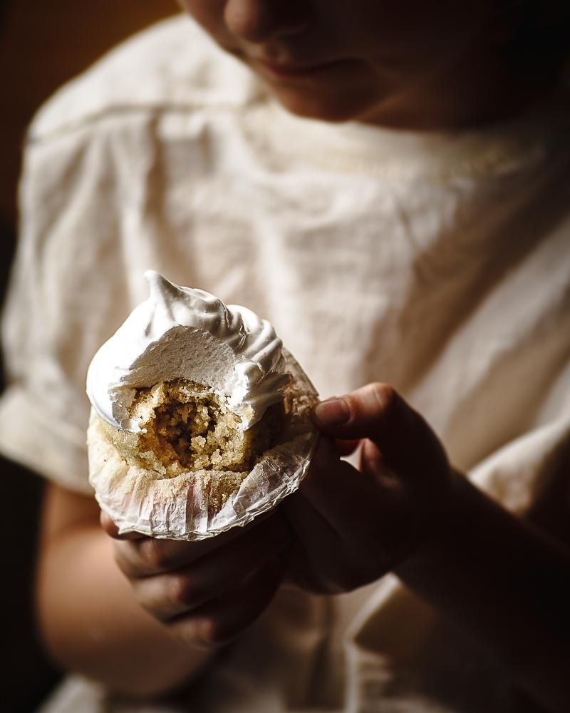 Vegan Marshmallow Cupcakes